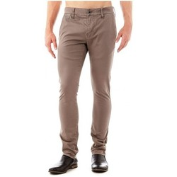 Vêtements Homme Pantalons 5 poches Guess Pantalon  Daniel Superskinny Beige Beige