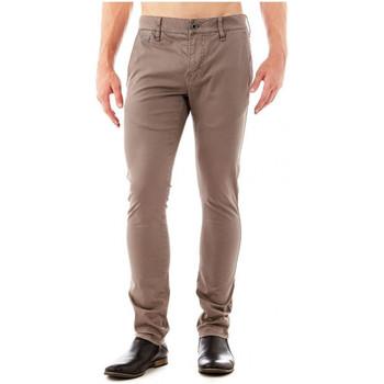 Vêtements Homme Pantalons 5 poches Guess Pantalon  Daniel Slim Beige Beige
