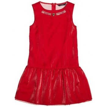 Vêtements Fille Robes Guess Robe  avec Collier Rouge Rouge