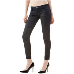 Vêtements Femme Jeans slim Guess Jean Slim  enduit Champagne Noir Noir
