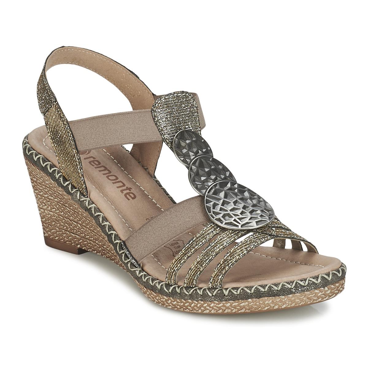 Sandale Remonte Dorndorf TINACE Doré / Argent