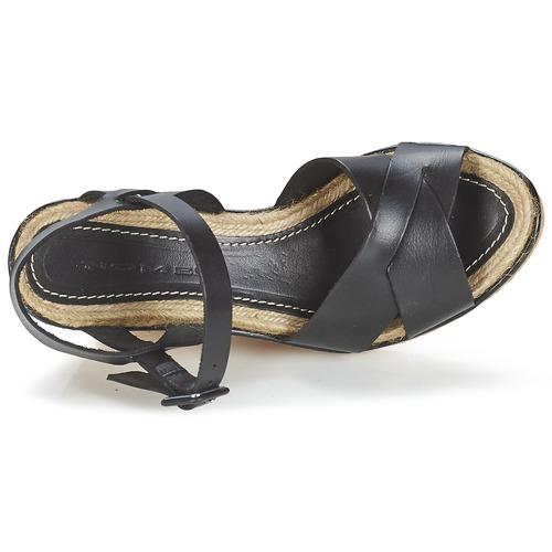Et Aristot Nu Nome Noir Femme Footwear Sandales pieds xhCtQrds