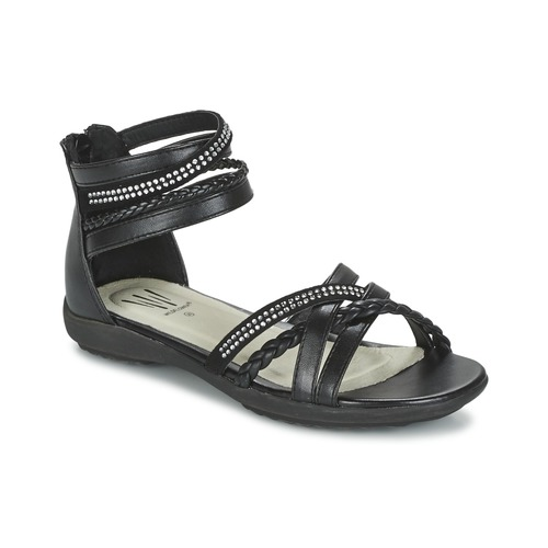 Chaussures Fille Sandales et Nu-pieds Wildflower GRIMSTAD Noir