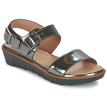 Sandale Wonders LAMETOP Gris argent 350x350
