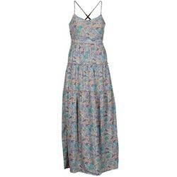 Vêtements Femme Robes longues Vero Moda PAISILLA MACE Beige / Bleu