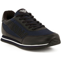 Chaussures Homme Baskets basses Armani jeans SNEAKER BLUE Blu