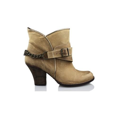 Chaussures Femme Bottines Vienty ESPUELAS-MOSCU BRUN