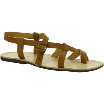 Chaussures Femme Sandales et Nu-pieds Gianluca - L'artigiano Del Cuoio 530 U CUOIO LGT-GOMMA Cuoio