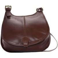 Sacs Femme Sacs Bandoulière Oh My Bag Sac à Main CUIR souple femme - Modèle M marron moyen MARRON MOYEN