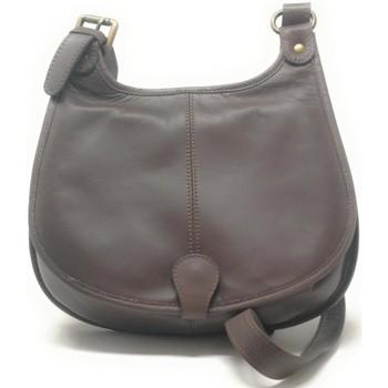 Sacs Femme Sacs Bandoulière Oh My Bag Sac à Main CUIR souple femme - Modèle M taupe foncé TAUPE FONCE
