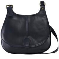 Sacs Femme Sacs Bandoulière Oh My Bag Sac à Main CUIR souple femme - Modèle M bleu foncé BLEU FONCE