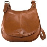 Sacs Femme Sacs Bandoulière Oh My Bag Sac à Main CUIR souple femme - Modèle M cognac foncé COGNAC FONCE