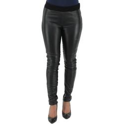 Vêtements Femme Pantalons Giorgio Cuirs Pantalon Stretch Giorgio ref_gio37401-noir Noir