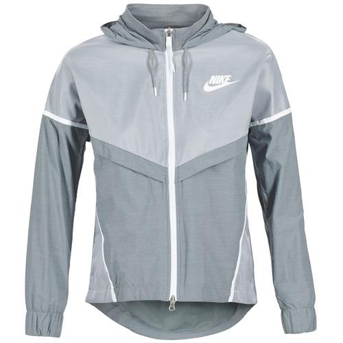 Vêtements Femme Coupes vent Nike TECH WINDRUNNER Gris