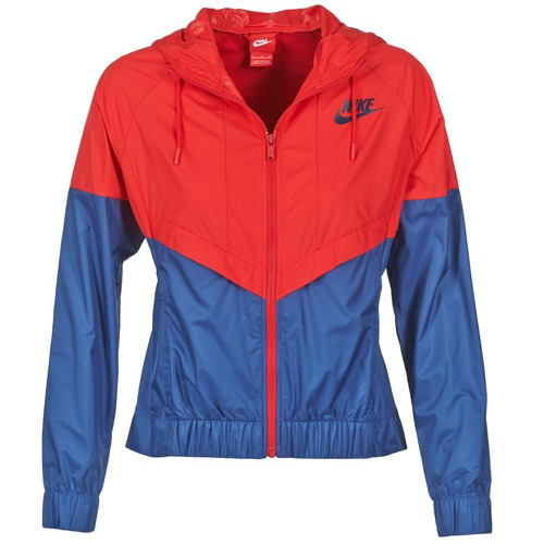 Vêtements Femme Coupes vent Nike WINDRUNNER Marine / Rouge