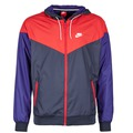Vêtements Homme Coupes vent Nike WINDRUNNER Marine / Rouge / Bleu