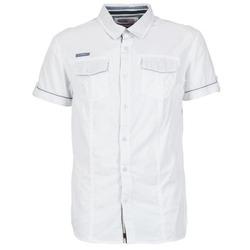 Vêtements Homme Chemises manches courtes Deeluxe ISLANDO Blanc