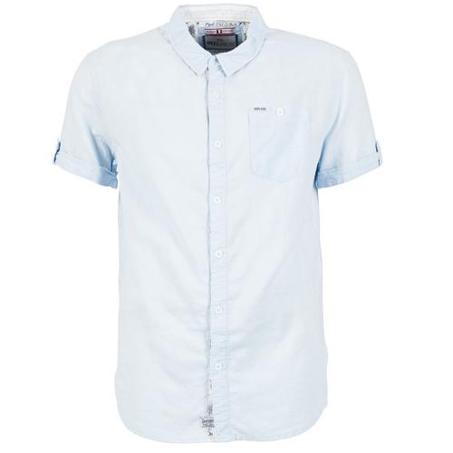 Vêtements Homme Chemises manches courtes Deeluxe GILSON Bleu
