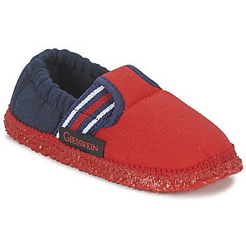 Chaussures Garçon Chaussons Giesswein AICHACH Rouge / Marine