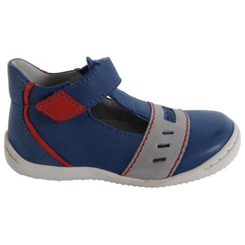 Chaussures Garçon Derbies Kickers 413491-10 GREG Azul