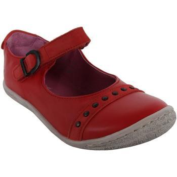 Chaussures Fille Ballerines / babies Kickers 413970-30 CAKMANDOU Rojo