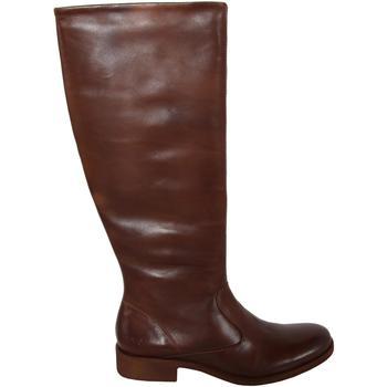 Chaussures Femme Bottes ville Kickers 320122-50 LONDON HIGH Marrón