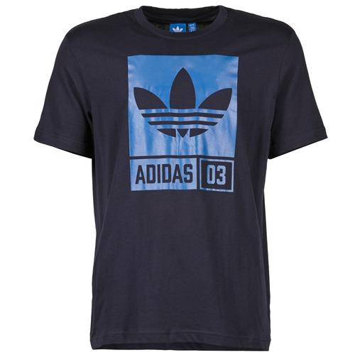 Vêtements Homme T-shirts manches courtes adidas Originals STR GRP Marine