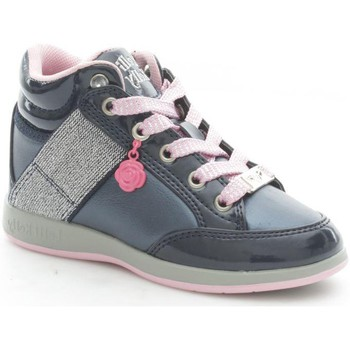 Chaussures Fille Baskets montantes Lelli Kelly 6712 Basket Fille Blue/Pink Blue/Pink