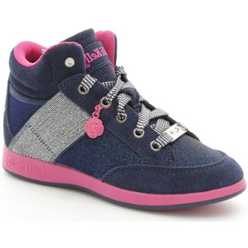 Chaussures Fille Baskets montantes Lelli Kelly 6712 Basket Fille Blue Blue