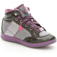 Chaussures Fille Baskets montantes Lelli Kelly 6712 Basket Fille Grey Grey