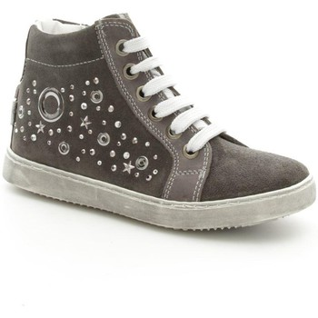 Chaussures Fille Baskets montantes Melania 2014  Fille Grey Grey