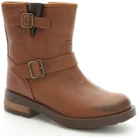 Chaussures Fille Boots Melania 6098 Bottes et bottines Fille Leather Leather