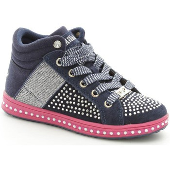 Chaussures Fille Baskets montantes Lelli Kelly 6980 Basket Fille Blue Blue