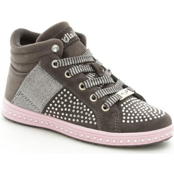 Chaussures Fille Baskets montantes Lelli Kelly 6980 Basket Fille Grey Grey