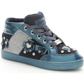 Chaussures Fille Baskets montantes Lelli Kelly 6928 Basket Fille Blue Blue