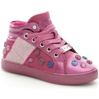 Chaussures Fille Baskets montantes Lelli Kelly 6930 Basket Fille Purple Purple