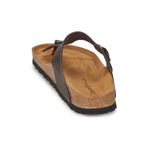 Femme Marron Piltoble Mat Attitude Tongs Chaussures Casual ARLq534j