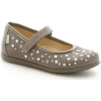 Chaussures Fille Ballerines / babies Melania 2021 Ballerines et Mocassins Fille Taupe Taupe