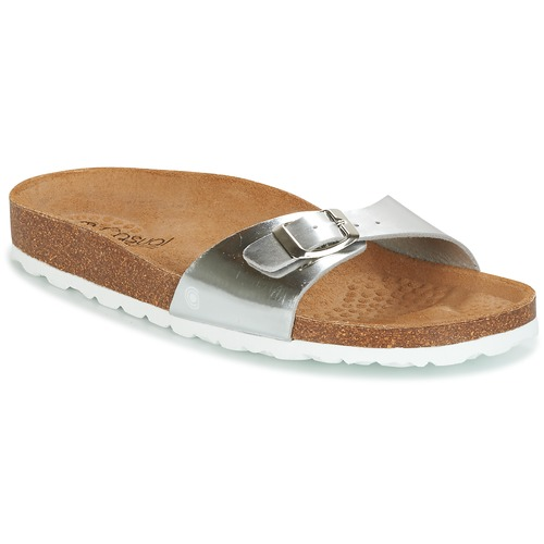 Chaussures Femme Mules Casual Attitude TERTROBAL Argent