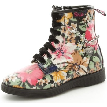 Chaussures Fille Bottines Lulu LuLù FANTASYLEA Basket Fille Multicolor Multicolor