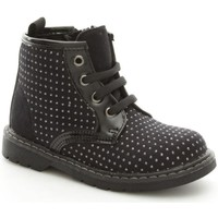 Chaussures Fille Boots Asso 37300 Basket Fille Black Black