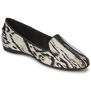 Chaussures Femme Ballerines / babies Roberto Cavalli XPS280-FLA35 Beige / Noir