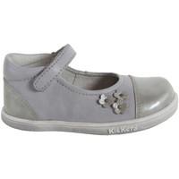Chaussures Fille Ballerines / babies Kickers 413501-10 TREMIMI Gris