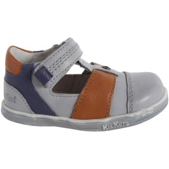Chaussures Garçon Derbies Kickers 413540-10 TROPICALI Gris