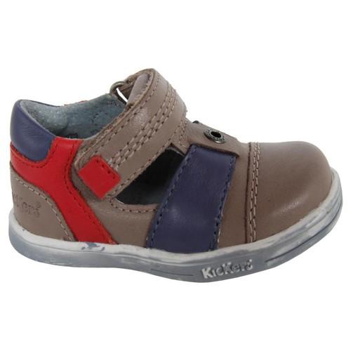 Chaussures Garçon Derbies Kickers 413540-11 TROPICALI Beige