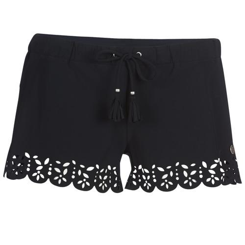 Vêtements Femme Shorts / Bermudas Banana Moon MEOW Noir