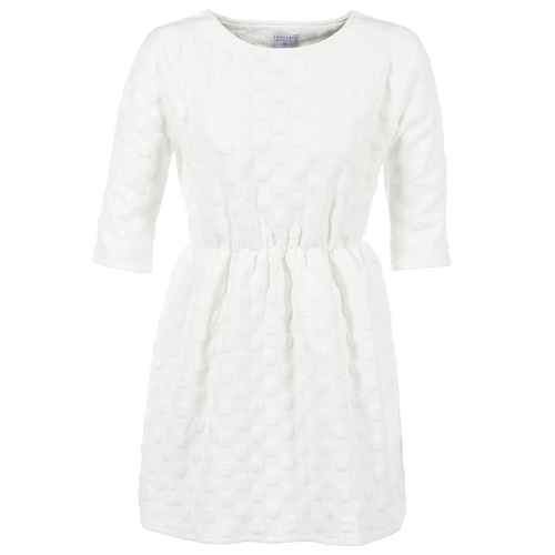 Vêtements Femme Robes courtes Compania Fantastica FRENE Blanc