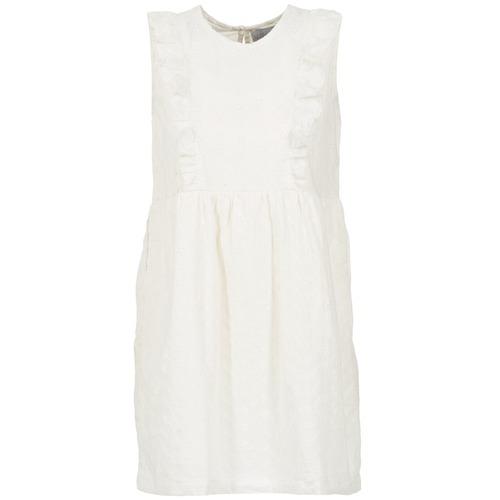 Vêtements Femme Robes courtes Compania Fantastica HETRE Ecru