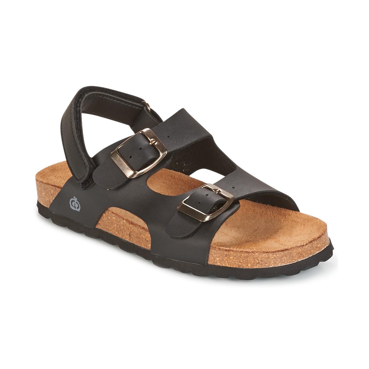 Sandale Citrouille et Compagnie KELATU Noir / Mate