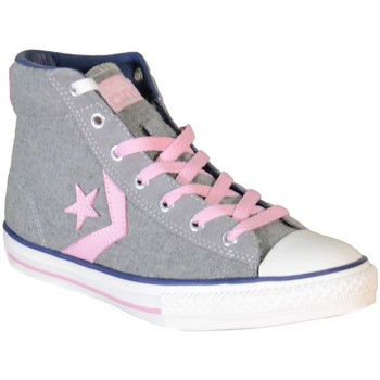 Chaussures Fille Baskets montantes Converse All Star Plyr Ev Hi Pheaton Gris